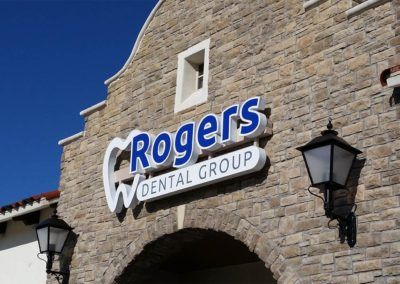 Rogers Dental Group Channel Letters Image