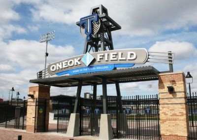ONEOK Field Sign Package